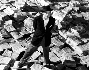 Orson Welles as Charles Foster Kane