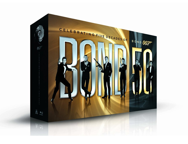 Bond 50 Blu Ray Collection