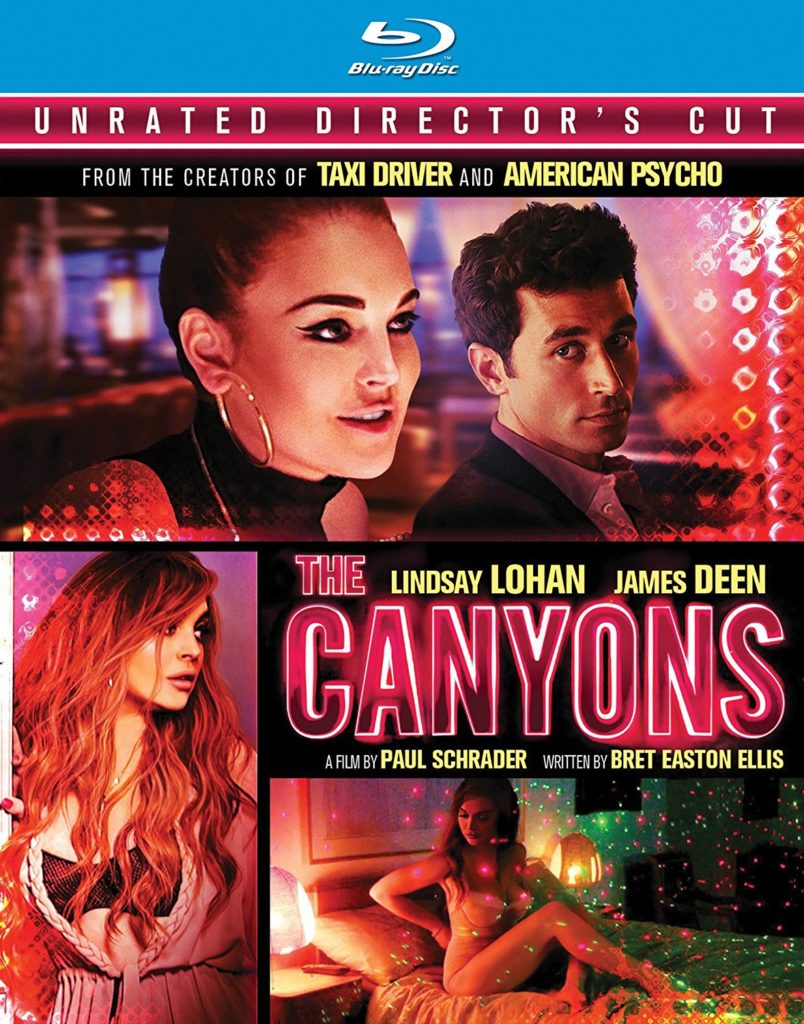 The Canyons BluRay