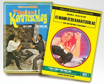Mann mit dem Karateschlag