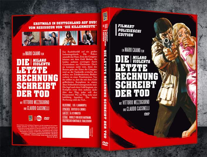 Milano Violenta DVD / Die letzte Rechnung schreibt der Tod