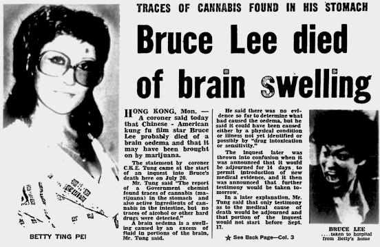 Bruce Lee Died From Lack of Sweat?